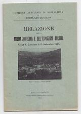 P955-ROCCA SAN CASCIANO-MOSTRA ZOOTECNICA E ESPOSIZIONE AGRICOLA 1923
