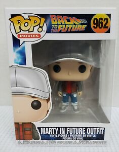 Funko Pop Back To The Future Marty in Future Outfit in Stock Now