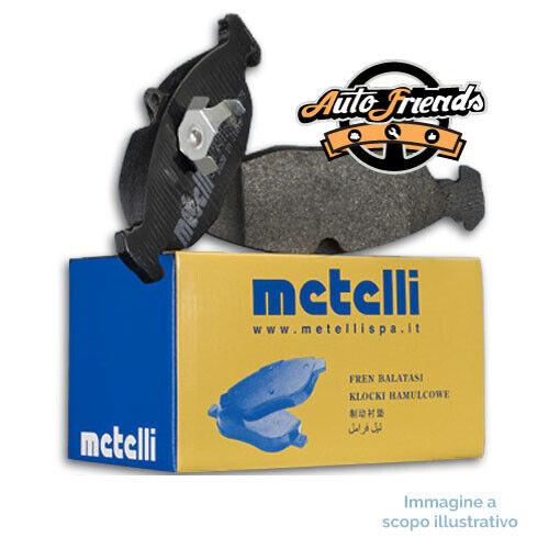22-0010-0 METELLI Kit 4 Pastiglie Pattini Freno Anteriore