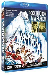 AVALANCHE-1978-Blu-Ray-B-Rock-Hudson-Mia-Farrow-Robert-Forster