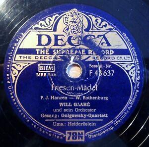 Will-Glahe-Friesen-Maedel-Heideroeslein-DECCA-10-034-78-RPM-8379
