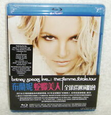 Britney Spears Live The Femme Fatale Tour Taiwan Blu-ray (BD) w/OBI +bonus video