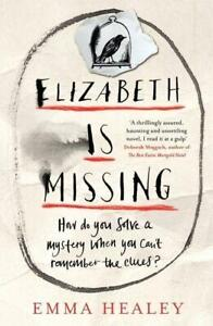 Signed-Book-Elizabeth-is-Missing-by-Emma-Healey-First-Edition-1st-Print