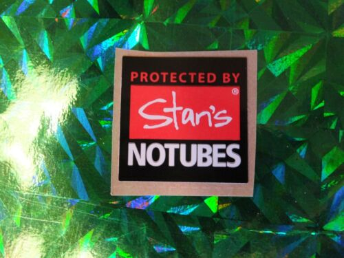 """1/"""" STANS NO TUBES Red//Wht Bike Ride Road Hike Run Outdoor Bicycle STICKER DECAL"""