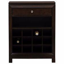 Wood Wine Cabinet Bottle Bar Kitchen Home Decor Display Liquor Holder Storage