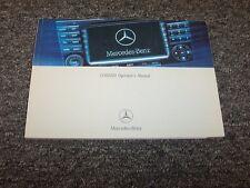 2007 Mercedes Benz E350 E320 E-Class Comand Navigation System Owner Manual