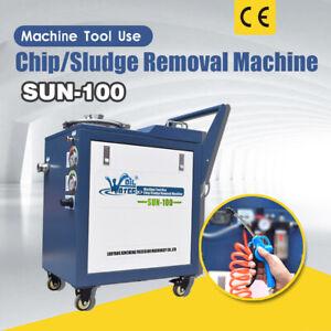 Pneumatic CNC Cutting Fluid Purification Circulation Machine Water Tank Cleaning