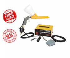 Powder Coating System Tool Paint Gun 10 30 Psi Vehicles Auto Body Shop Home 120v
