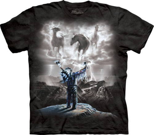 The Mountain Summoning the Storm Native American Indian Horse Shirt 101321