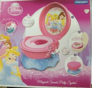 The-First-Years-Disney-Princess-Magical-Sounds-Potty-System-Pink-BNIB