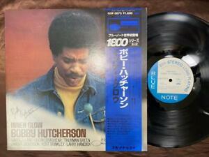 AUTOGRAPH-BOBBY-HUTCHERSON-INNER-GLOW-BLUE-NOTE-GXF-3073-OBI-STEREO-JAPAN-LP