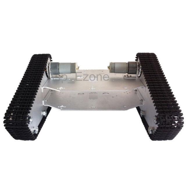 Robo-Soul TK-100 White Crawler Robot Chassis Triangle Mobile Platform