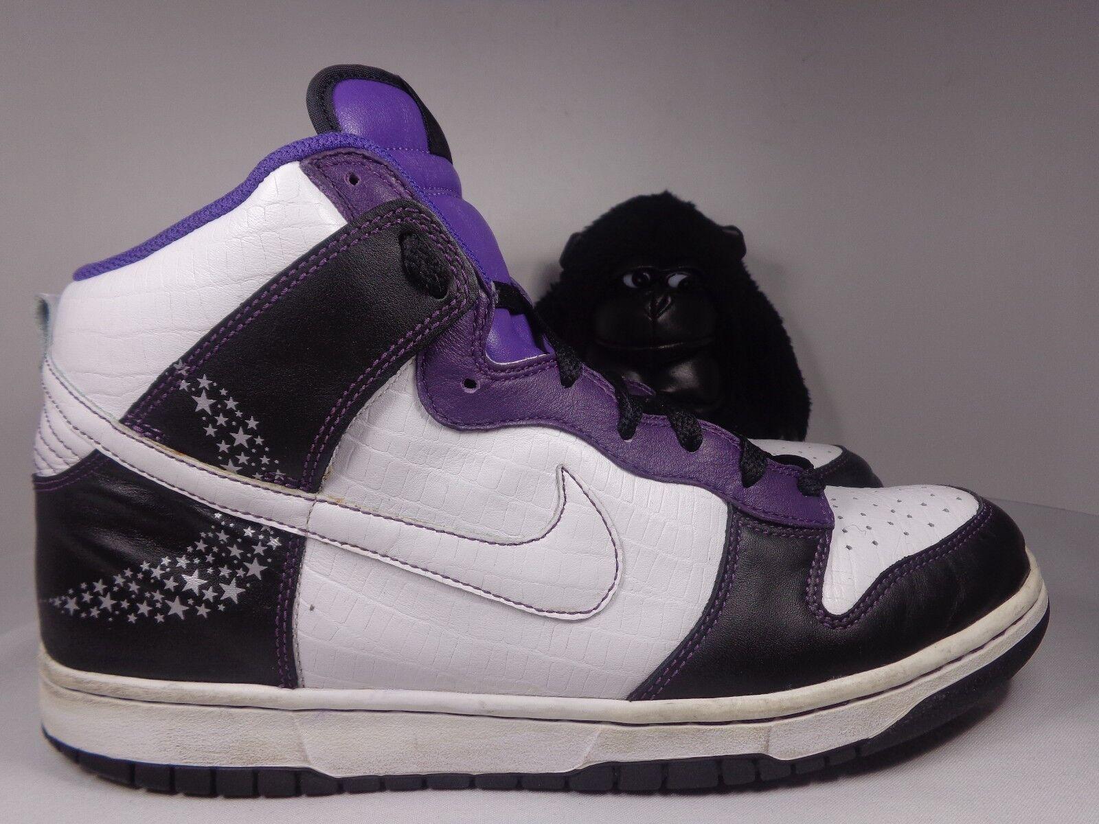 Uomo Nike Dunk High Premium Crocodile Basketball shoes size 11 US 312786-011