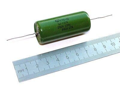 8 pcs 0.68uF 0,68uF .68uF 250V 10/% K75-10 Hybrid PIO capacitors NOS