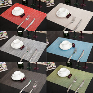 Sales-PVC-Quick-drying-Placemats-Insulation-Mats-Coasters-Kitchen-Dining-Table