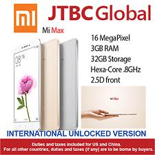 New Xiaomi Mi Max 6.44 inch Duos 16MP 4G LTE 3GB RAM 32GB Factory Unlocked Phone