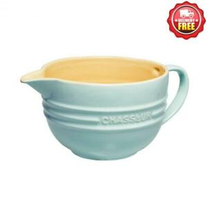 Hot Deal Chasseur La Cuisson Mixing Jug 1.5l Duck Egg Blue 19433