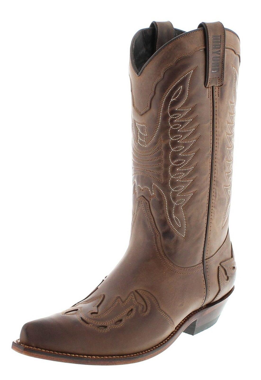 Mayura Stiefel MB017 Braun Westernstiefel Cowboystiefel