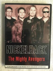 Nickelback-The-Mighty-Avengers-Prev-Viewed-DVD-Documentary-Interviews
