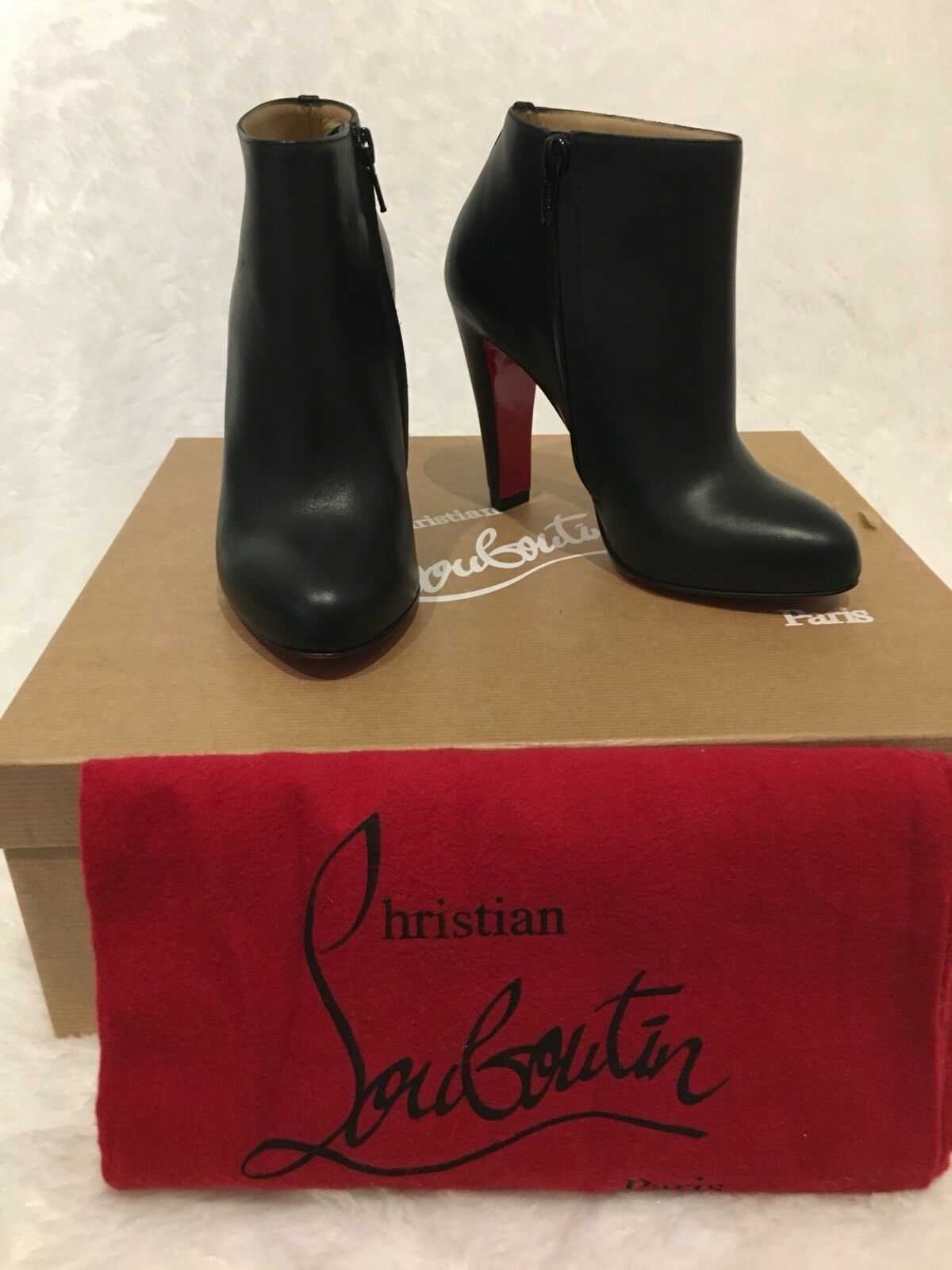 Christian Louboutin Bobsleigh  100 Ankle avvioies S34.5  995  colorways incredibili