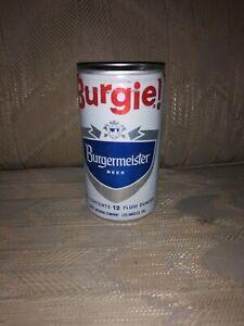Burgie Burgermeister Beer Can 12 Oz Pabst Brewing Company Vintage Vtg Man Cave Ebay