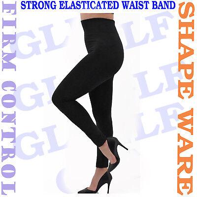 NEW WOMEN/'S LADIES THIN SHAPE WARE SLIMMING LEGGINGS STRECHY SIZE 6-18