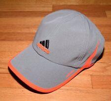 Adidas Climacool Adizero Tennis Running Stretch S/M Cap Hat New Grey/Infrared
