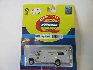 Athearn-1-87-Feuerwehr-USA-Ford-F850-Rescue-Fertigmodell