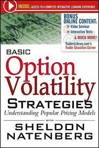 Volatility and options strategies