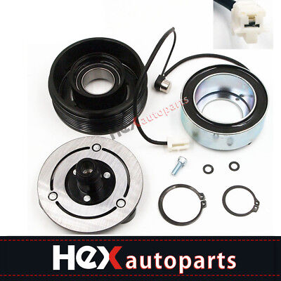 AC Compressor Clutch KIT Front Plate Bearing For MAZDA 3//5 2004-2009 /& 2006-2010