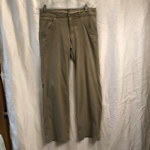 Women's Clothing Lucy Womens Size Small Tan Athletic Pants Hiking High Waist Flaw 637171 L28p Non-Ironing