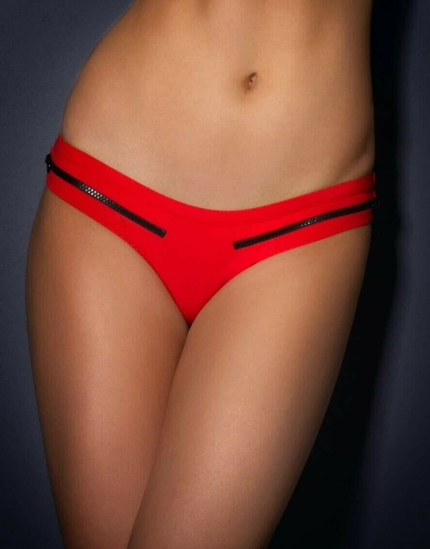 Blaize Bikini Brief Agent Provocateur red swimsuit BNWT