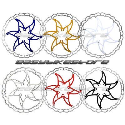 6 Colors ASHIMA Ai2 Lightest Disc Brake Rotor 140mm 160mm BIKE CYCLING