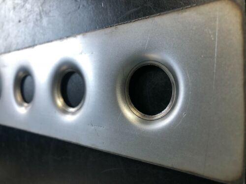 """Roll Cage Dimple Die Gusset Strip 19mm// 3//4/"""" Panel Pillar Weld In Gussets"""