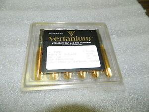 6 Nouveaux Vermont Tin-coated Prise Taps,edp : 1104289000,m12-1.5,3-flute,pointe Ootidh7a-07223702-593499014