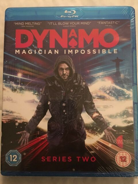 Dynamo - Magician Impossible (Blu-ray, Series Two)