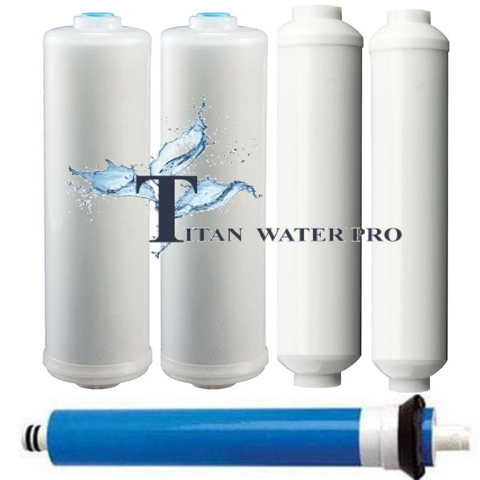 Replacement Replacement Replacement Water Filters Membrane 5 PC Fits TItan Heavy Duty Alkaline System CT 6f2361