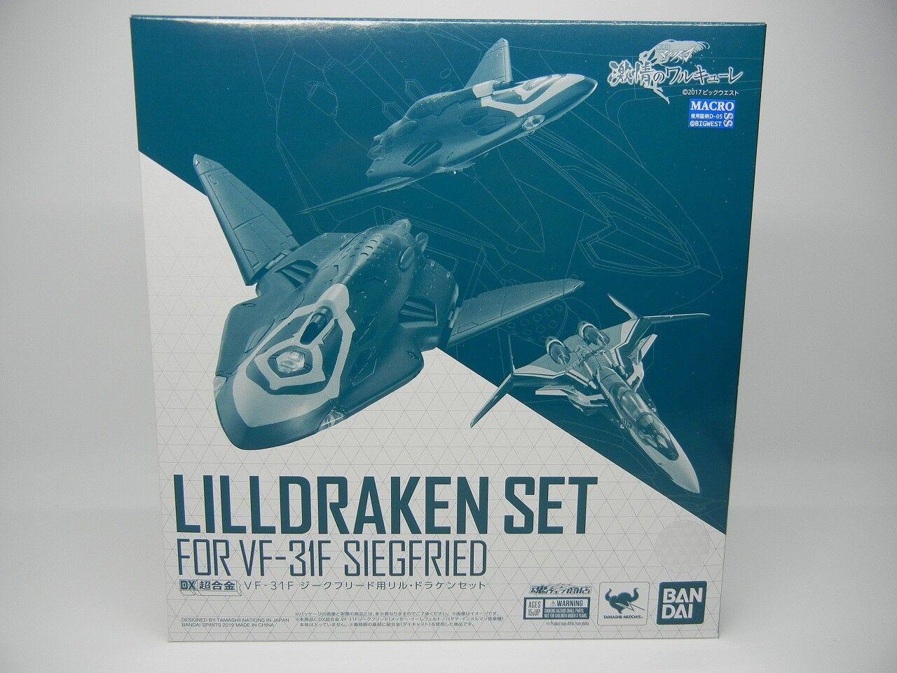 Makross Delta DX Chogokin Lillraken Set för Siegfried Movie ver.  Robotech