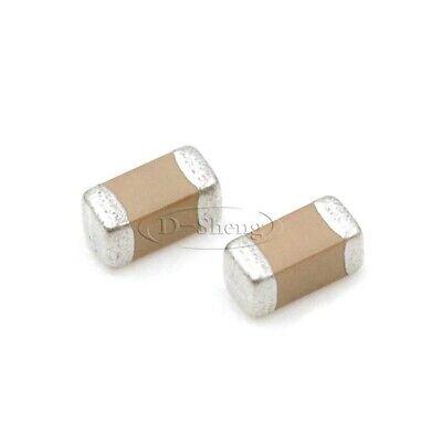 50PCS SMD Chip Capacitor Ceramic 1206 1uF//100uF//22NF NEW