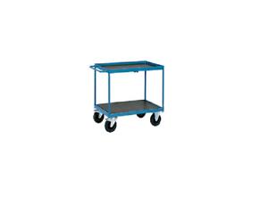 Lagertechnik Transportwagen Tischwagen Montagewagen 1000 x 700 mit Bordkante