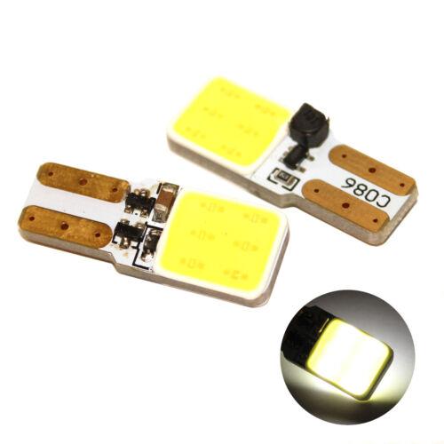 Fits Fiat Fiorino 1.3 D Multijet White 12-SMD LED COB Number Plate Light Bulbs
