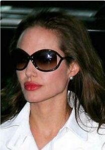afd81758f0b Image is loading New-Tom-Ford-FT0008-Women-Celebrity-Shades-Oversized-