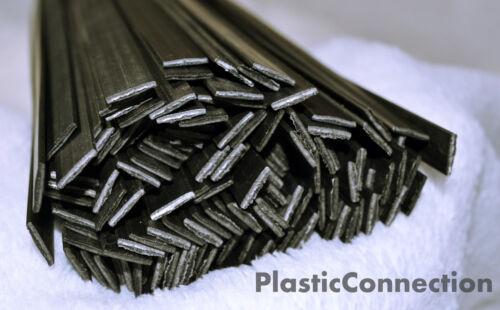 PARAURTI Nero industria automobilistica PP 0,8 plastica di saldatura BACCHETTE 25pcs 6mm
