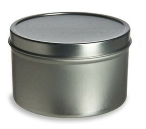 6oz-Round-Deep-Tin-Containers-with-Lids-12-NEW-Candles-Spices-Beads