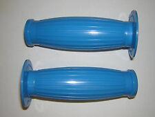 "Original Gran Turismo Grips Blue NEW Honda Kawasak Suzuki Yamaha 7/8"" Handlebars"