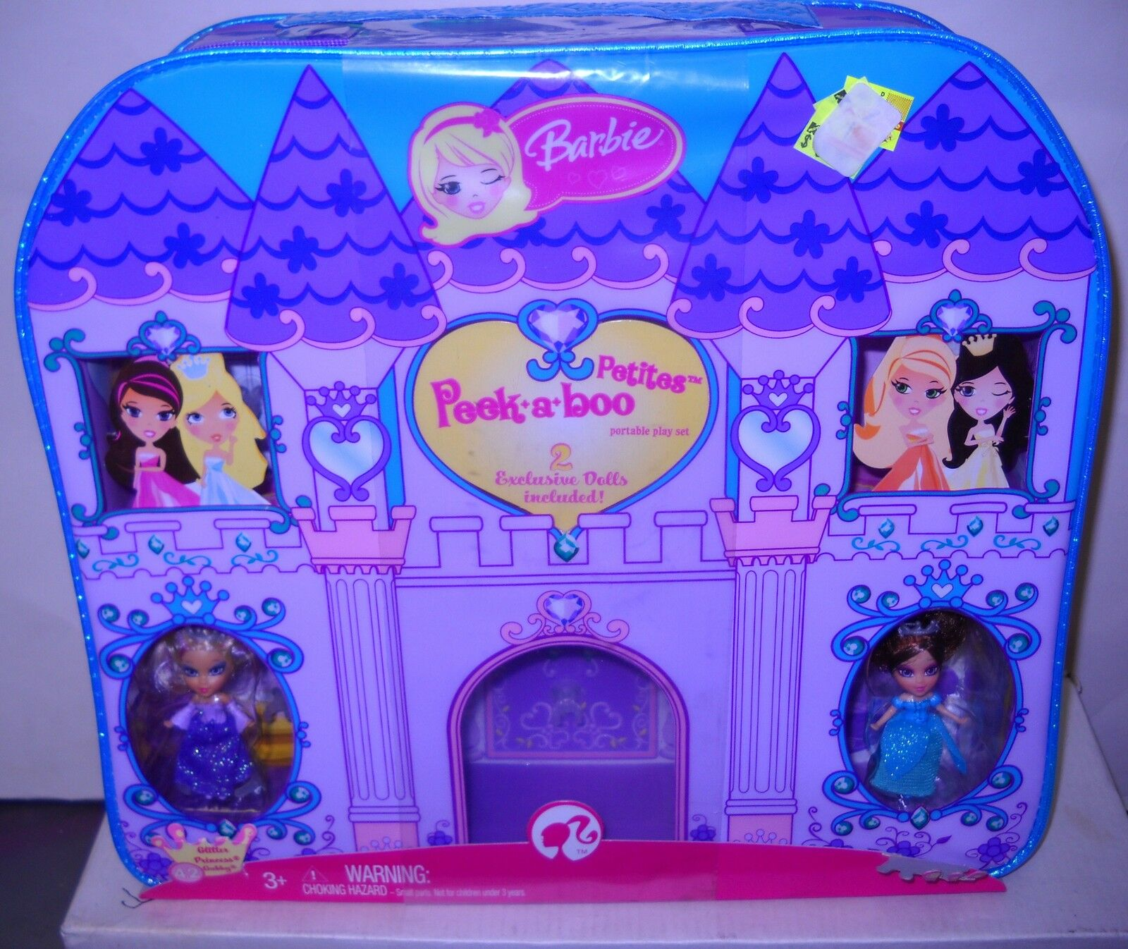 Nuevo En Caja Mattel Barbie Peek A Boo Petites Playset & 2 Muñecas &