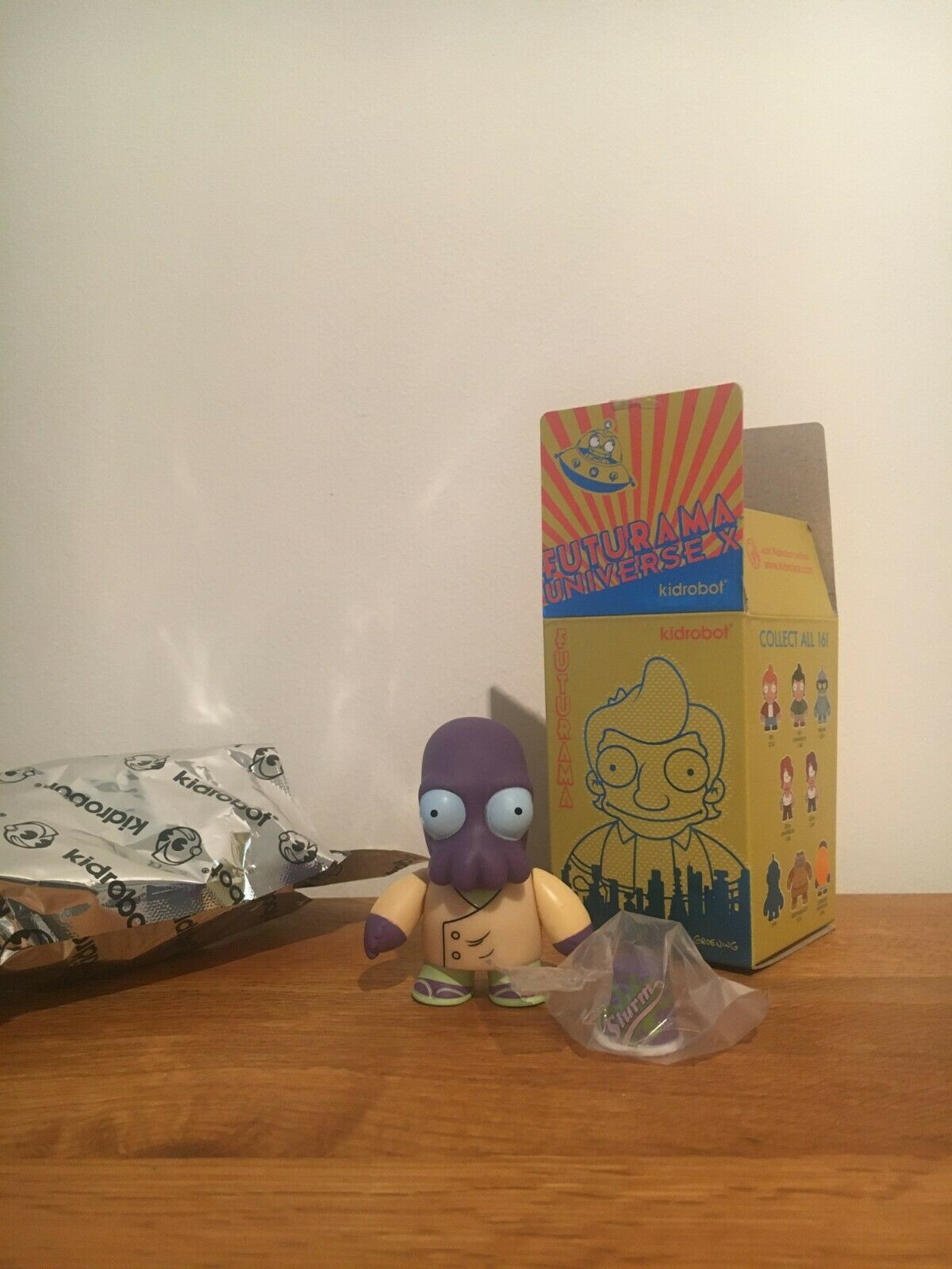 Blau Zoidberg Universe B - Rare Chase 1 96 Kidrobot X Futurama Vinyl Figure NEW
