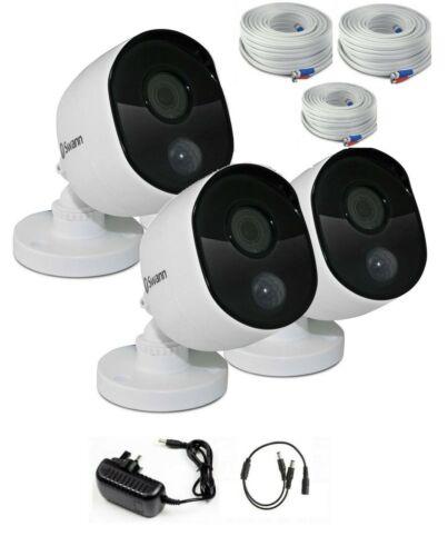 Swann PRO 1080MSB Heat-Sensing 1080p 2.1mp HD Bullet Cameras CCTV For 4580 4575