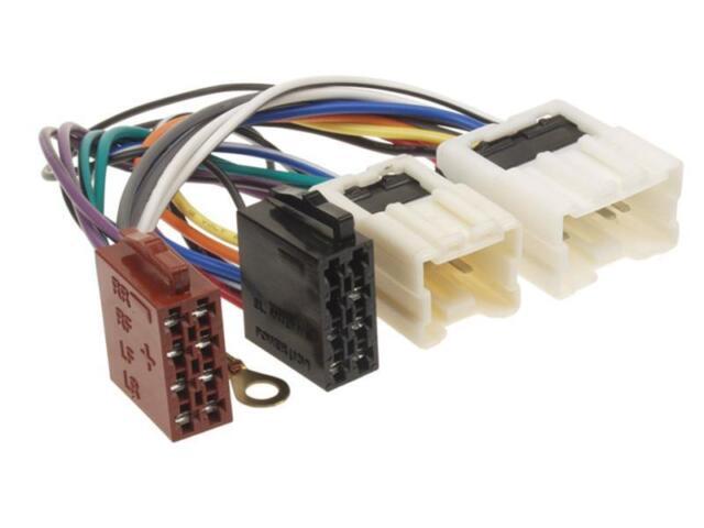 Car Radio Adapter Cable Plug for Nissan 350 Z Almera Micra Murano