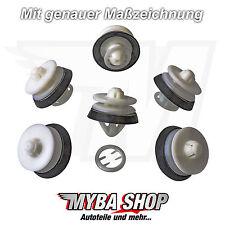 30x Innenverkleidung Befestigung Clips mit Gummi für VW Seat Audi 8Z0868243